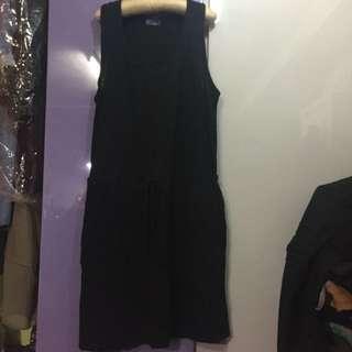 GAP黑色 背心衫裙