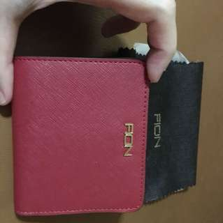 Fion Dark Rose Pink Wallet
