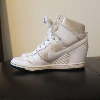 High Top Wedge Sneakers - Women's Dunk Sky Hi