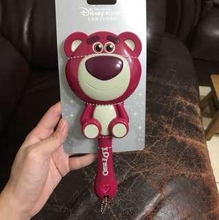 全新 上海迪士尼購入 熊抱哥梳子