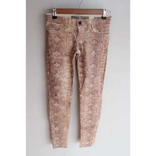 Guess Milk Showdown Snake Foil Jeans