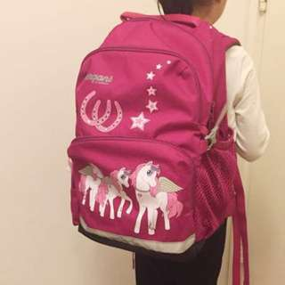 德國🇩🇪 Bergans 小學生護脊書包 School Bag Germany 代購正版 dr Kong 日本my little pony 獨角獸🦄️