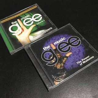 GLEE Volume 3 Showstoppers and GLEE The Power of Madonna