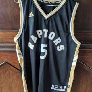 Original Adidas Raptors Jersey Only Worn Once.