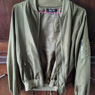M for Mendocino Bomber Jacket. Only worn Twice.