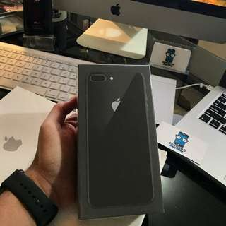 Unlocked (Space Gray) Iphone 8 Plus 128GB