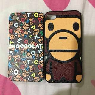 Iphone 4 / 4S phone covers. (2 in a set)