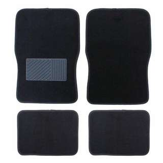 Universal Floor Mat 4 Piece Set for your Car