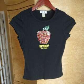Big apple NYC Cotton Tshirt