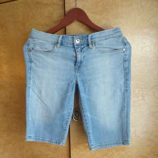 Designer Denim Bermuda Shorts