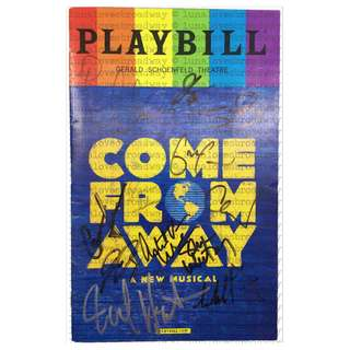 PLAYBILL Come From Away - Theater Broadway Musical West End