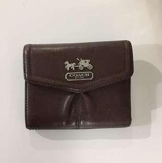 Coach mini wallet