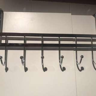 Over the door metal hanger