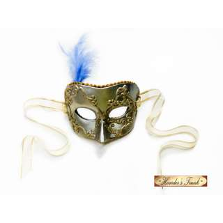 New Wearable Design Venetian Masquerade Mask Mardi Gras Gold