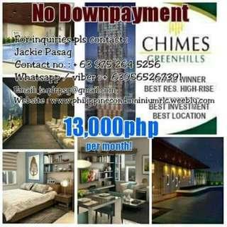 Own a condominium nin Metro Manila for only 13k per month