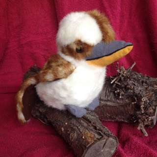 Gorgeous stuffed toy, Kookaburra *NEW* 18cm H