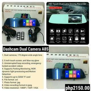 DashCam Dual Camera recorder QCY A85