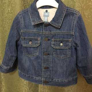 Gap Denim jacket size 18 to 24m..