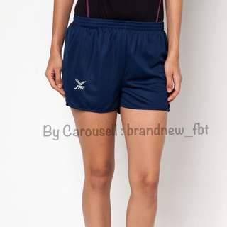 FBT shorts straight cut #011B BRAND NEW PLAIN COLOR navy blue