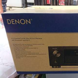 *Brand New* Denon AVR-X6200W 9.2 Channel Wireless A/V Receiver with Dolby Atmos & DTS:X