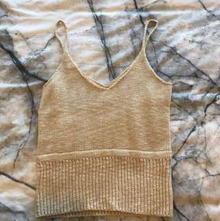 Knitted top size small