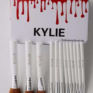 12 Piece Makeup Brush Set by Kylie