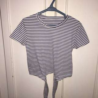 Striped Crop Top (Small)