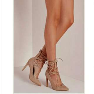 Beige Missguided Heels