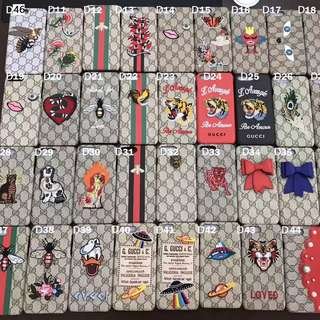 GUCCI IPHONE ASSORTED CASES