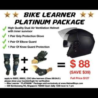 BIKE LEARNER PLATINUM PACKAGW