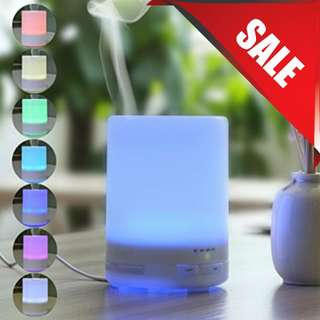 MUJI LED AROMA ESSENTIAL OIL DIFFUSER. HUMIDIFIER & AIR PURIFIER. CHRISTMAS GIFTS & PRESENT, TREE