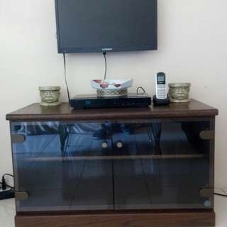 Wooden TV Rack Display Cabinet