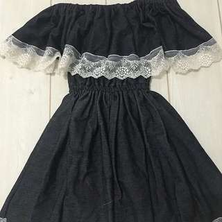 Denimlike dress 12-18mos