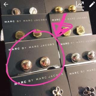 Marc By Marc Jacobs Earrings 耳環 正品‼️禮物 冬天 聖誕節 聖誕禮物 copper colour Bracelet Accessories ❌Tory Burch LV KENZO GUCCI PRADA MIU MIU HERMES NIKE FERRAGAMO YSL CHOLE MARC 名牌 生日禮物 Michael Kors