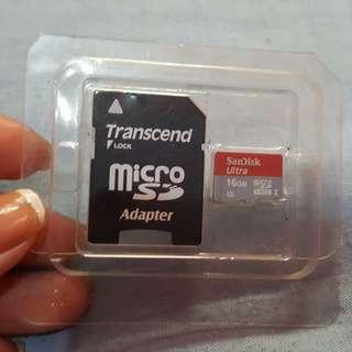 Sandisk Ultra 16GB Memory Card