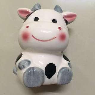 乳牛造型存錢筒