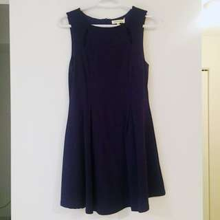 Navy blue dress - Size M