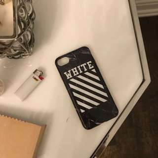 Off White iPhone 7 Case
