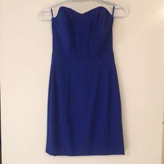 Dynamite Strapless dress - Size XS