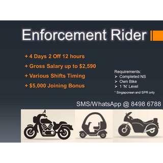 Enforcement Rider (Compliance)