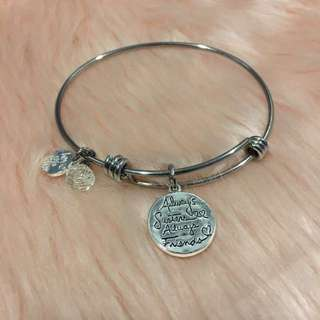 Alex and Ani inspired dupe bracelet