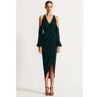 Shona Joy midi maxi dress BNWT
