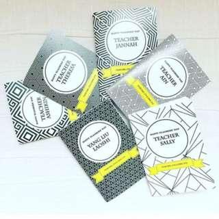 Personalised custom doodlebooks notebooks door gifts wedding favours teachers day