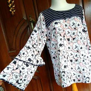 Flower Blouse Terompet