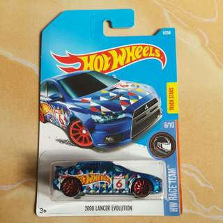 HOT WHEELS MITSUBISHI