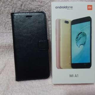 Xiaomi Mi Android One 小米A1(black) incl. mobile case, Mi earphones, etc