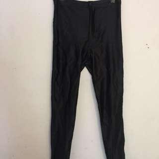 American apparel disco pants black size M