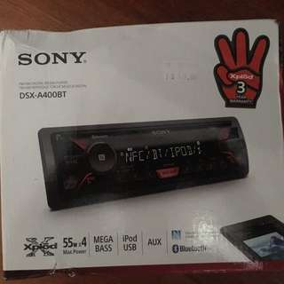 Sony Xplod MegaBass Head Unit