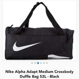 Nike Black Duffle Bag