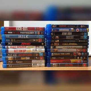 23x Blu-ray's for $40 (1.73 each) CHEAP CLEARANCE / Horror & more